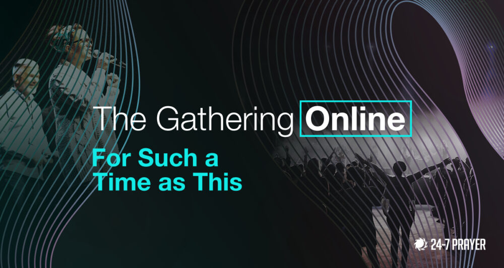 Gathering on-line to pray